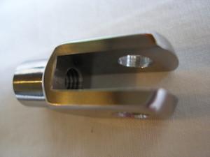 Ducati 999R titanium brake clevis