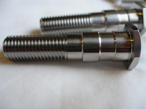 Honda 250/6 titanium brake shoe pivot bolt