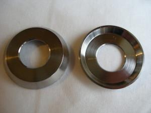 Honda 250/6 titanium cup washers