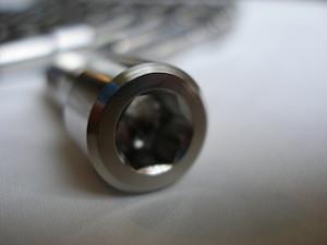 Titanium BST drive pin head, 8mm socket