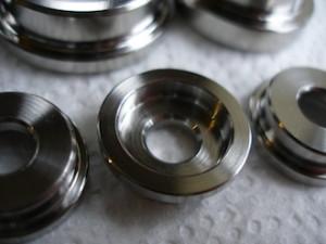 Honda titanium cup washers