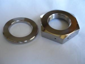 Yamaha R1 titanium sprocket nut and washer