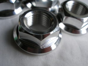7075 alloy axle flange nut