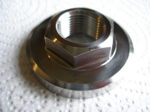 Kawasaki titanium clutch nut