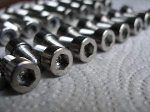 Titanium 5/16 UNF socket cap screws