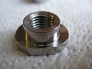 KTM BST titanium sprocket nut