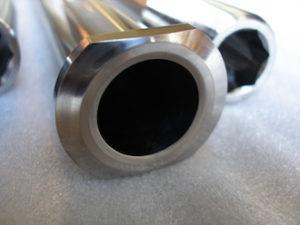 Titanium GSXR rear axle head