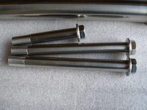 Titanium GSXR suspension bolts
