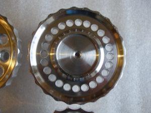 6082 alloy BSA Goldstar steering damper knob