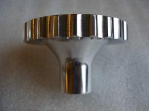 6082 alloy BSA Goldstar steering damper knob profile