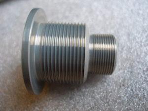 Aprilia RS250 7075 alloy swinging arm frame insert threads