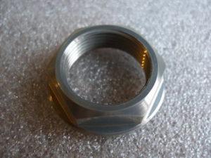 7075 alloy Aprilia front wheel axle nut
