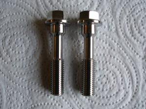 Honda titanium generator crank end bolts