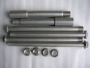Montessa 7075 alloy axle sets