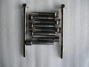 Montessa titanium engine and suspension mounting bolts