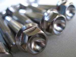 Montessa titanium suspension bolt head